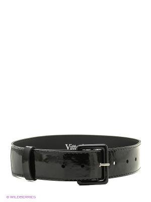 Ремень Vittorio Richi. Цвет: черный