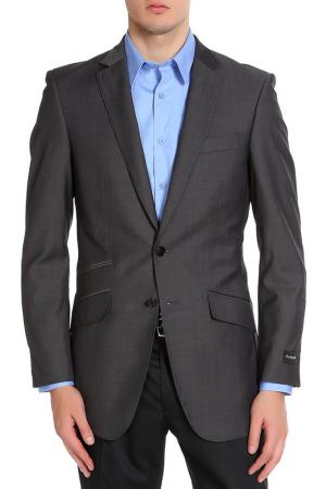 Пиджак Marks & Spencer. Цвет: серый