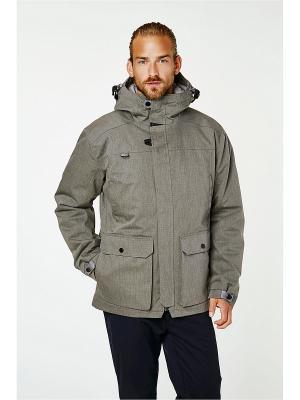 Куртка BRAGE PARKA Helly Hansen. Цвет: серый