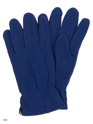 Перчатки fleece gloves PUMA. Цвет: синий