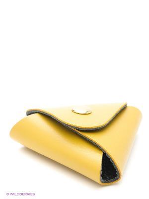 Футляр для наушников Dimanche. Цвет: желтый