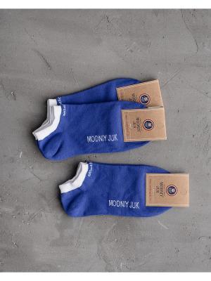 Носки, 3 шт. Modniy JUK. Цвет: синий
