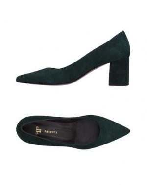 Туфли FARRUTX. Цвет: зеленый