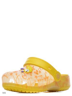 Пантолеты Effa. Цвет: желтый