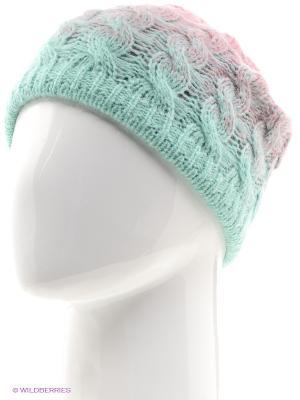 Шапка Totti. Цвет: светло-зеленый, розовый