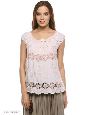 Блузка Amado Barcelona. Цвет: розовый