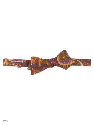 Галстук - бабочка Magnetiq. Цвет: фиолетовый, оранжевый