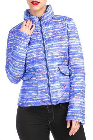Куртка YETI. Цвет: фиолетовый