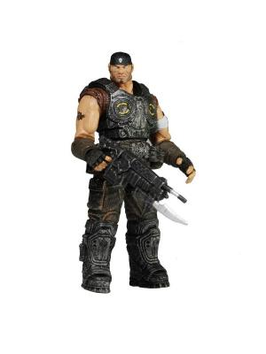 Фигурка Gears of War 3 3/4 Series 1 - Marcus Fenix /6шт Neca. Цвет: серый