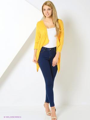 Кардиган Femme. Цвет: желтый