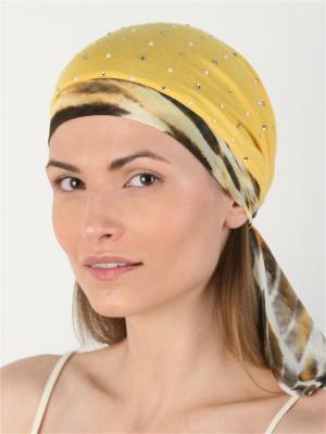 Бандана SHERONA. Цвет: желтый