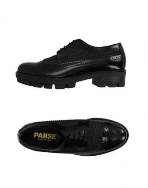 Обувь на шнурках PAUSE. Цвет: черный