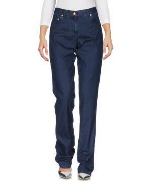 Джинсовые брюки PAUL & SHARK. Цвет: синий