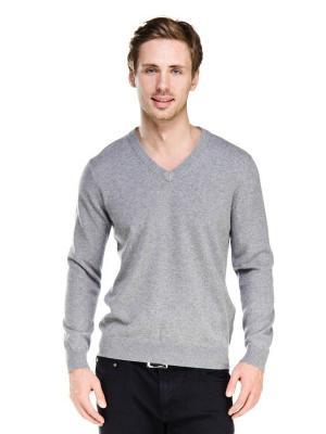 Пуловер VipDressCode. Цвет: серый
