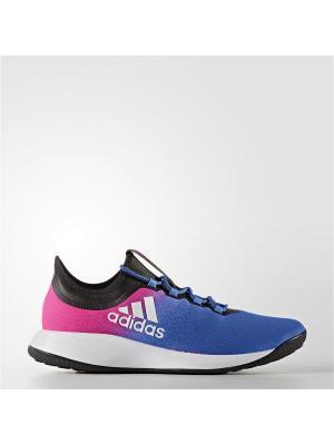 Футбольные бутсы Adidas. Цвет: фиолетовый, розовый