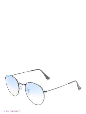 Солнцезащитные очки ROUND METAL Ray Ban. Цвет: белый