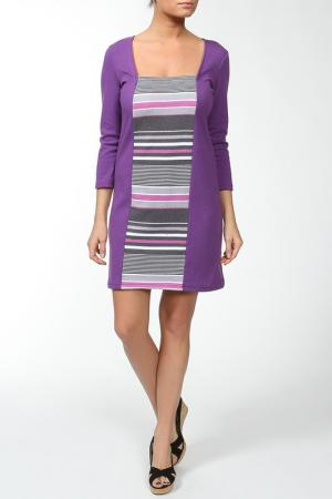 Платье Веста. Цвет: фиолетовый