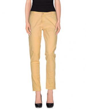 Повседневные брюки NINA New York. Цвет: охра