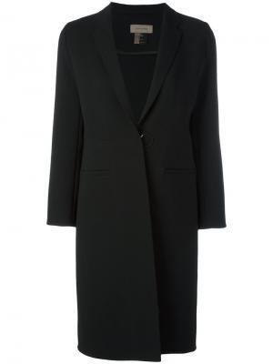 Классическое пальто Tony Cohen. Цвет: чёрный