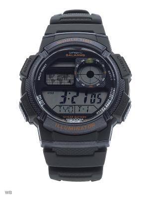 Часы Casio AE-1000W-3A. Цвет: хаки