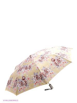 Зонт Slava Zaitsev. Цвет: горчичный