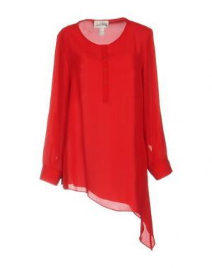 Блузка JOSEPH RIBKOFF. Цвет: красный