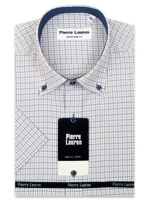 Рубашка Pierre Lauren. Цвет: светло-коричневый
