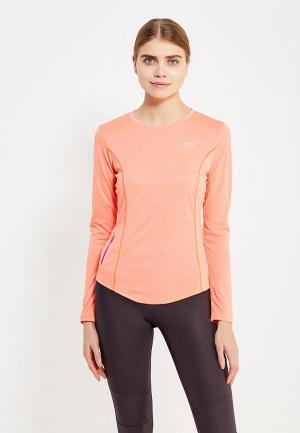 Лонгслив спортивный Li-Ning. Цвет: оранжевый