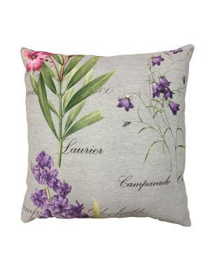 Декоративная подушка Naturel. Цвет: серый, малиновый, фиолетовый