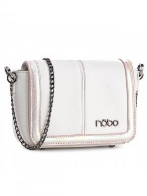 Сумка женская NOBO. Цвет: белый, розовый