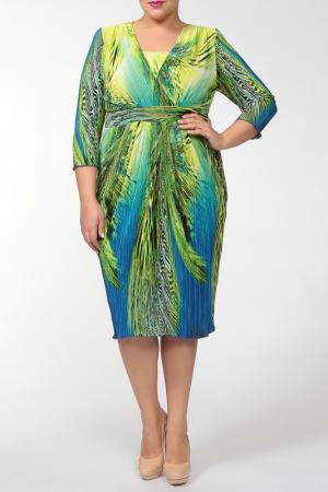 Платье Terra. Цвет: шартрез