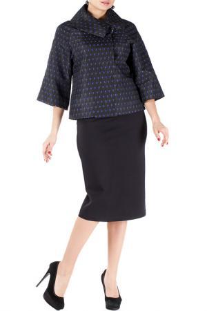 Жакет-платье Mannon. Цвет: синий