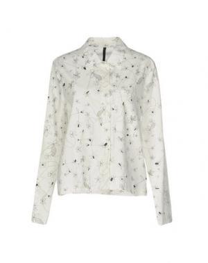 Pубашка SARA LANZI. Цвет: белый