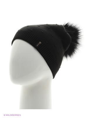 Шишка Беркле шапка женская с помпоном Berkle. Цвет: черный