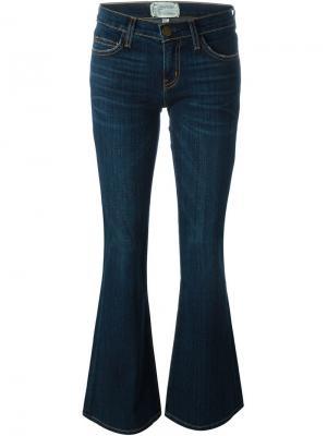 Расклешенные джинсы  Low Bell Current/Elliott. Цвет: синий