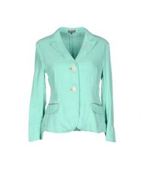 Пиджак MALÌPARMI. Цвет: светло-зеленый