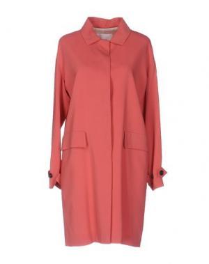Легкое пальто JUCCA. Цвет: пастельно-розовый