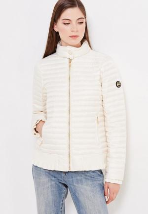 Куртка утепленная Michael Kors. Цвет: белый