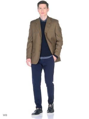 Пиджак MARK GORDON. Цвет: коричневый