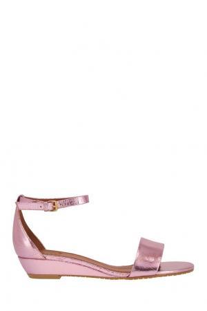 Кожаные сандалии Marc by Jacobs. Цвет: розовый