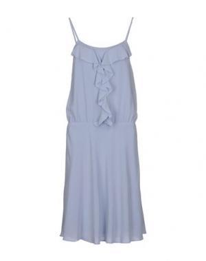 Платье до колена FILIPPA K. Цвет: небесно-голубой