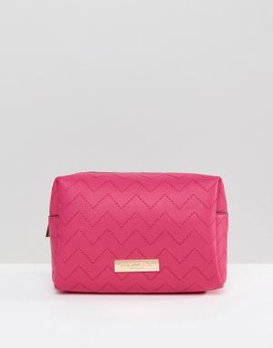 Carvela Косметичка Ryley. Цвет: розовый