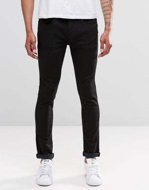 Waven Черные джинсы скинни Erling. Цвет: черный
