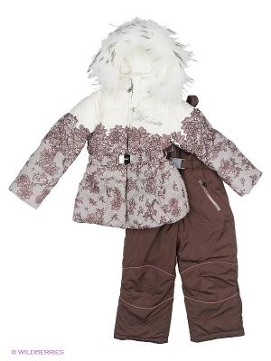 Комплект одежды RadRada. Цвет: светло-коричневый