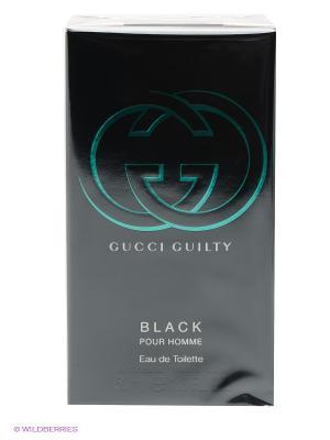 Туалетная вода Gucci Guilty Black Pour Homme, 50 мл. Цвет: прозрачный