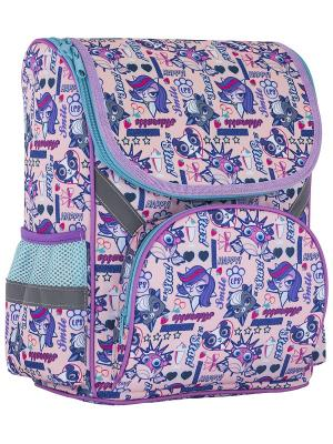 Рюкзак Littlest Pet Shop. Цвет: сиреневый, голубой