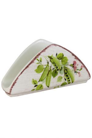 Салфетница Овощное ассорти LCS. Цвет: белый, красный