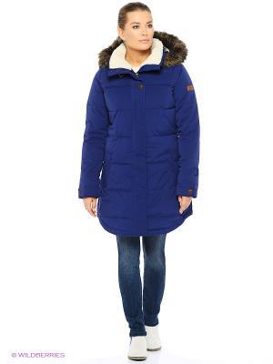Куртка ROXY. Цвет: синий