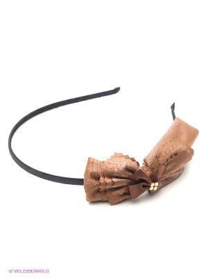 Ободок Lastoria. Цвет: коричневый