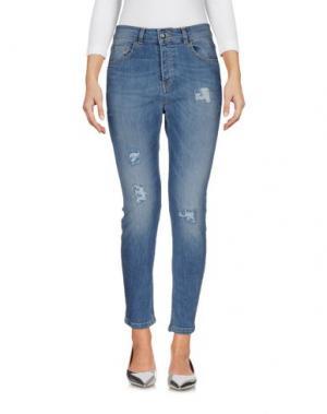 Джинсовые брюки KORALLINE. Цвет: синий